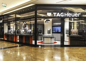 Tag Heuer opens its second stand-alone boutique in Dubai