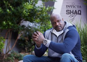 Shaquille O'Neal is launching his own line of watches