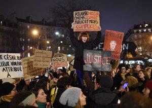 Walkouts at France's César Awards as convicted rapist Roman Polanski wins best director