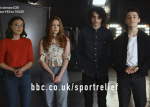 'Stranger Things' did a Sports Relief special; now shut down for coronavirus