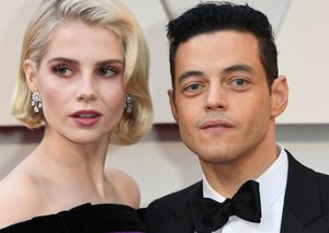 Rami Malek and Lucy Boynton are not so quietly killing the whole fashion game