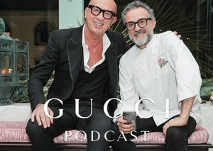 Esquire cover star Massimo Bottura is the latest guest on the Gucci Podcast