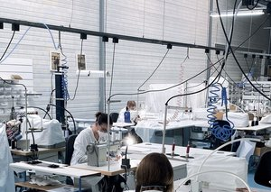 Dior is making face masks for frontline workers