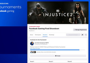Facebook now lets you organize your own gaming tournaments