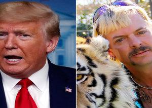 Trump wants to pardon 'Tiger King' Joe Exotic
