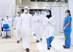 Dubai Crown Prince Sheikh Hamdan opens World Trade Centre field hospital