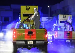 75 per cent of Dubai has been disinfected