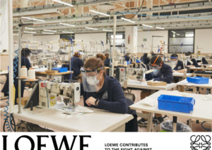 Loewe contributes 100,000 surgical masks to fight against coronavirus