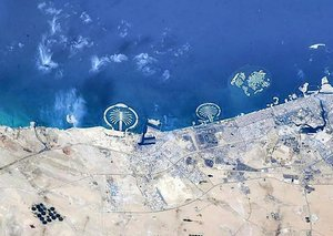 Astronaut shares rare photos of Dubai from space