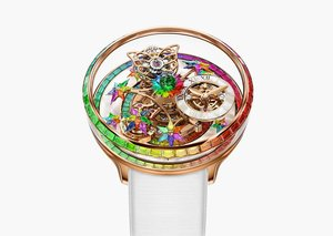 Jacob & Co.'s Astronomica is a gorgeous fever-dream of rainbow jewels