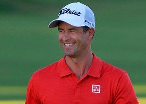 Golfer Adam Scott just made a 76-year-old retiree's dream come true