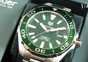 TAG Heuer unveils new all-green Aquaracer