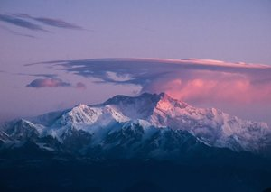 The world's third-highest mountain peak is now visible from 100 kms away because of Covid-19 lockdown