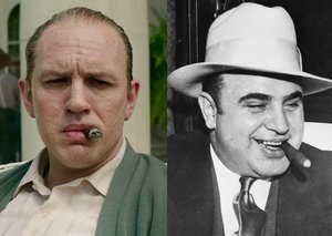 How the Capone cast compares to their real-life counterparts