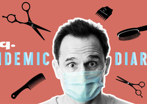 "Pandemic Diaries: ""I went to the barber during coronavirus lockdown and the haircut feels better than ever"""