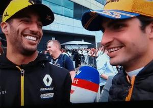Carlos Sainz moves to Ferrari and Daniel Ricciardo heading for McLaren in 2021