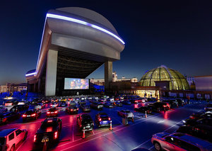 First look at Dubai's new rooftop experience: drive-in cinema at Mall of the Emirates