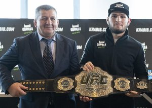 Khabib Nurmagomedov confirms his father in 'critical condition' with coronavirus