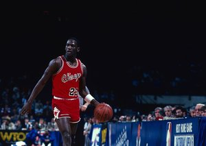 Michael Jordan's sneakers break auction record
