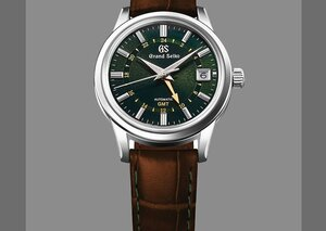This new old-school Grand Seiko is inspired by London—and the mountains of Japan