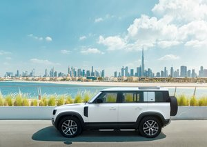 The new Land Rover Defender has arrived in the UAE
