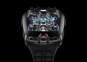 The $280,000 Bugatti Chiron Tourbillon from Jacob & Co is here