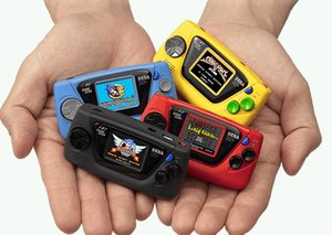 SEGA announces tiny Game Gear Micro handheld console