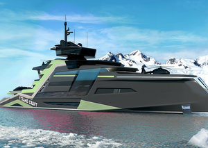 I'd love to self-isolate on Strand Craft's Miami Superyacht