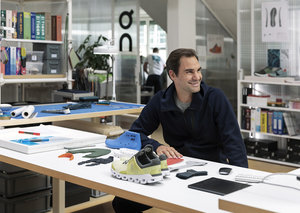 Roger Federer launches tennis-inspired sneaker with On