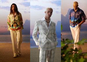 Award-winning men's brand Casablanca is blowing up