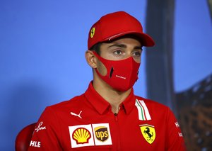 The Covid mask brand worn by Ferrari and McLaren F1 teams