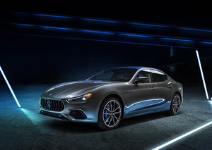 Maserati releases its first electrified car, the 2020 Ghibli Hybrid