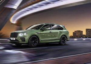 Bentley Bentayga's new 2021 model is a contender