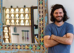 Nicholas Dellaportas on Taylor Morris' new collection and selling sunglasses to Sheiks