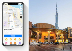 Apple Maps now works inside the Dubai Mall, Dubai Airport and more