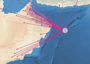 Feel that? Moderate earthquake reported in the Arabian Sea