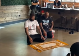Nope, the viral video of Mike Tyson praying in Saudi is a fake