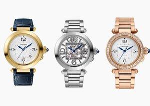 New Pasha de Cartier range puts 80's glam on your wrist