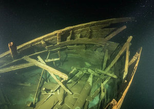 Divers just found a scarily-well preserved ship in 'Dark Waters'