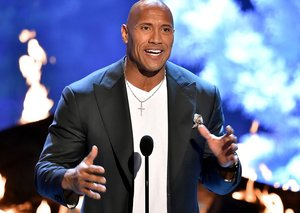 Adrian Groulx will play 'Young Rock' Dwayne Johnson