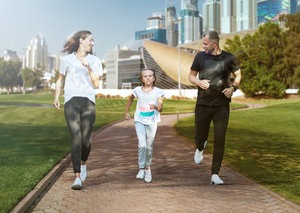 Dubai wants to turn itself into a city-wide running track