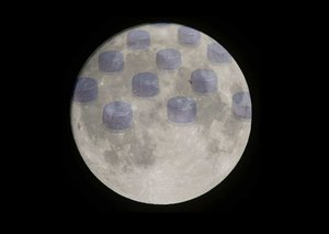 Turns out there's a tonne of water on the moon