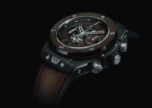 Hublot and Berluti produce Venezia leather Big Bang