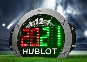 Hublot is again the official timekeeper of the Premier League