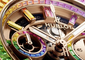 Hublot just wants to put more rainbows on more wrists