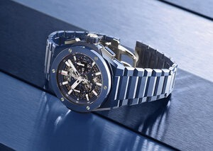 Hublot introduces ceramic models to its Big Bang Integral collection