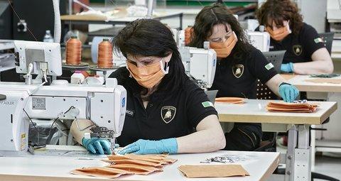 Lamborghini starts production of surgical masks, medical shields for use in Coronavirus pandemic