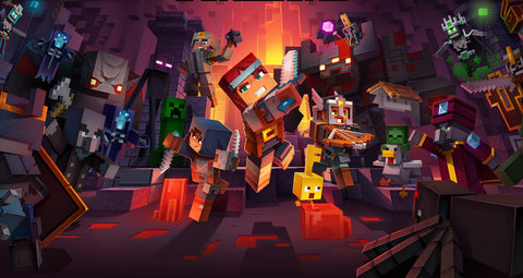 Minecraft Dungeons is part RGP, part block-builder