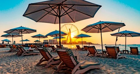 Dubai has reopened public beaches and parks