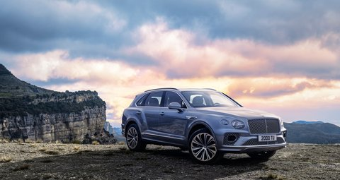 The new Bentley Bentayga comes with a big style upgrade
